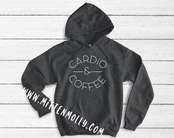 c1077cfa4b21 Cardio   Coffee Hooded Sweatshirt