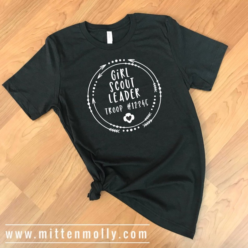 b9fc6cb5 Girl Scout Leader T-Shirt Girl Scout Leader Clothing Girl | Etsy