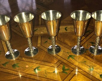 Roma Silver Plated Stemware Cordial/Shot Glass Size