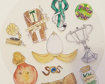 Harry Potter and The Goblet of Fire Stickers
