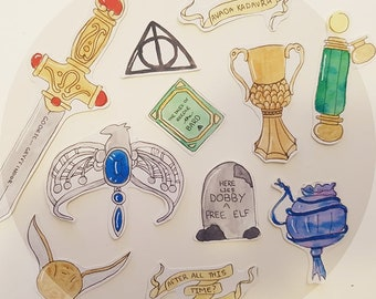 Harry Potter and The Deathly Hallows Stickers