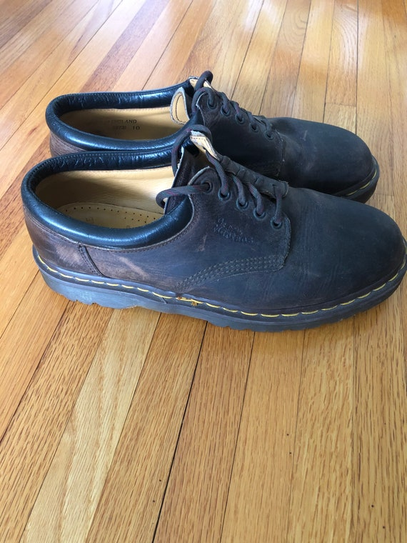 Vintage 1990s Dr. Doc Martins Shoes Brown 11 US Ma