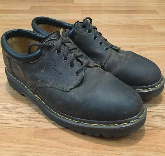 Vintage 1990s Dr. Doc Martins Shoes Brown 11 US Ma