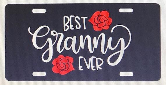 Personalized Lady Bug License Plate Gigi Car Tag Custom Name Grandma Car Tag New