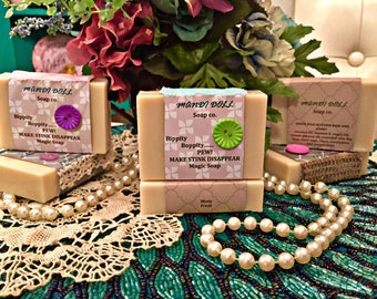 Minty Fresh Goats Milk and Honey Soap