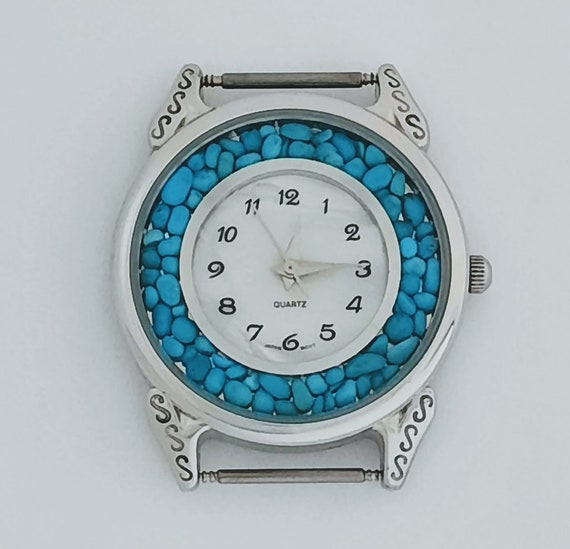 Men's Turquoise Watch Face