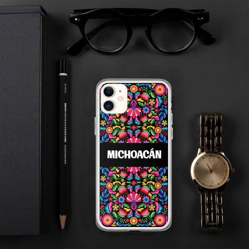 Michoac\u00e1n Flores Mexicanas Carcasa para iPhone