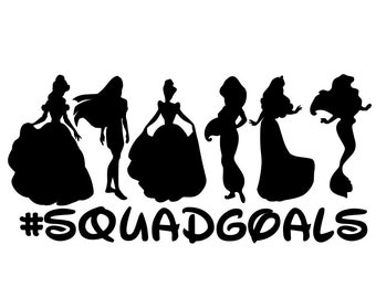 Squad Goals SVG