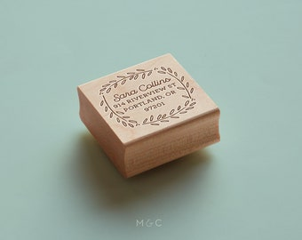Rosemary - Botanical Collection - Personalized Stamp