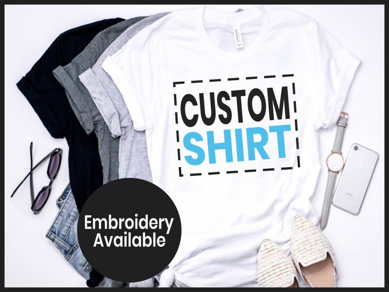 0d9635e1e Handmade Gildan Unisex Tees personalized shirts custom | Etsy