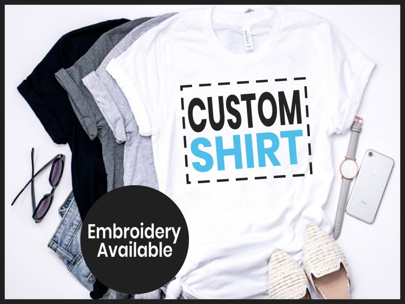 Personalized T-shirt, Custom T-Shirts, Custom Shirt, Personalized Shirt,  Custom Shirt Printing, Custom Shirt for Women, Custom Shirt for Men