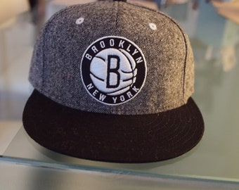 best service 5c194 2131a Brand New Adidas Brooklyn Nets NBA official snap back hat NBA hat