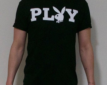 06cf4bdd2 Playboy Shirt bunny classic black