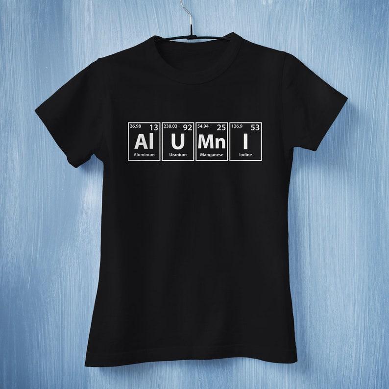 Alumni T-Shirt Class Reunion Shirt Science Teacher T-shirt  621168a95