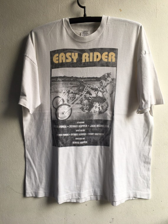 1990s Easy Rider Vintage Movie Tshirt