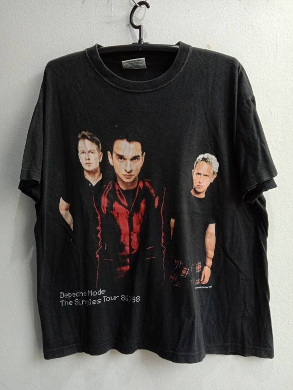 1998 Depeche Mode Vintage Original Music Tshirt
