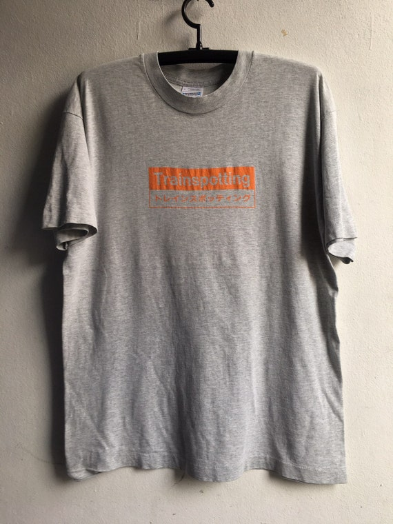 1990s Trainspotting Vintage Original  Movie Tshirt