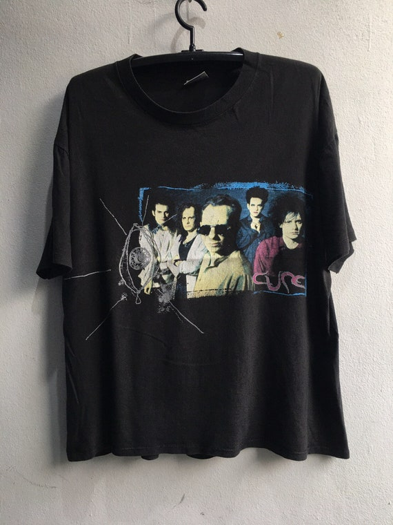 1992 The Cure Vintage Tour Music Tshirt