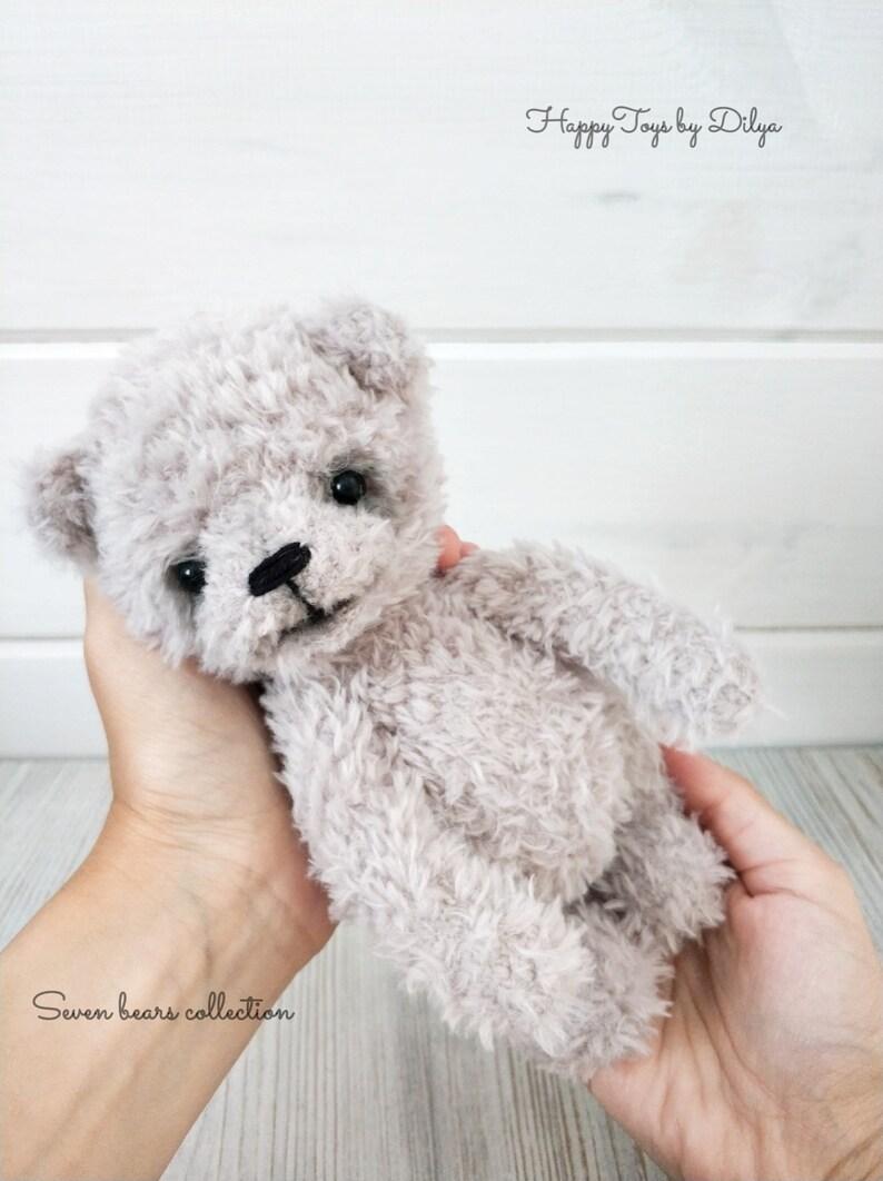 Cute Teddy Bear - Blue Teddy,Handmade Crochet,Toys For Kids ... | 1062x794