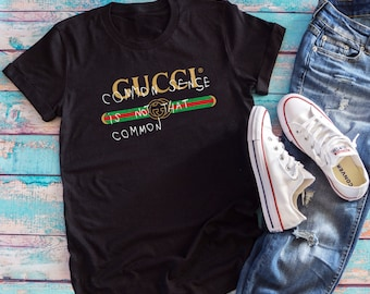 7964d8072 Gucci Inspired common sense - Gucci Vintage - Vintage Shirt - Unisex