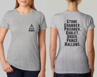 Always Harry Potter Shirt Harry Potter Books List Shirt