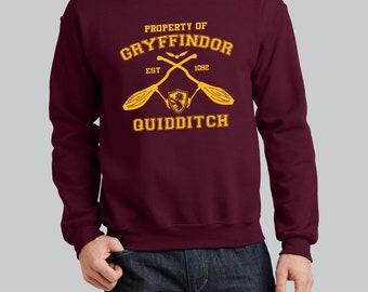 Property of Gryffindor  Sweatshirt Harry Potter  Premium Sweatshirt // Unisex