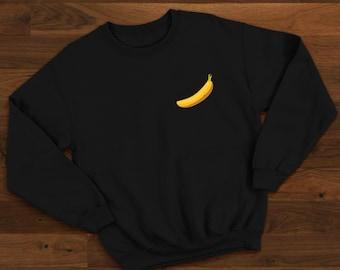 Banana Hoodie Funny Sweatshirt