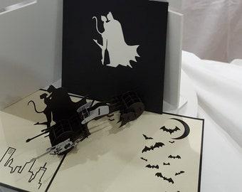 Batman 3D popup greeting card
