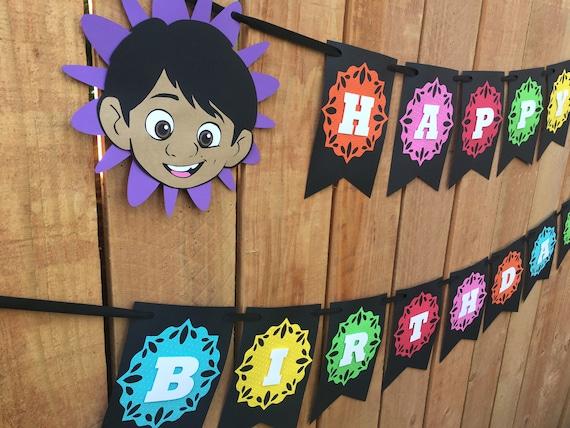 Banniere De Joyeux Anniversaire Coco Disney Miguel Decorations