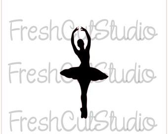 Ballerina Shoes Stencil A4//A5//A6