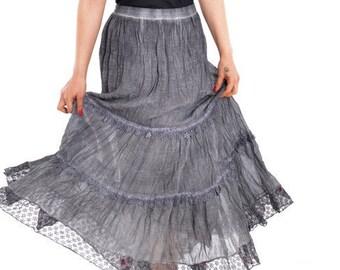 91cd238f4 Cotton Skirt, Boho Skirt, Natural skirt, Raw skirt, Bohemian skirt, Eco  skirt, Hippie skirt, Gypsy skirt,