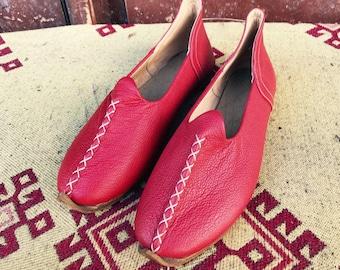 9fdefa6b4f98 Red summer shoes