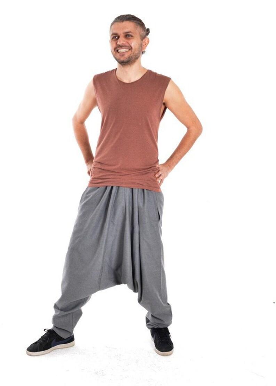 98e85de933 Mens Clothing, Mens Harem pants, Boho clothing men, Bohemian clothing men,  Festival pants men, Casual pants, Mens Yoga pants,