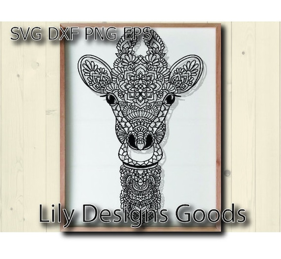 Giraffe Svg Cut File Etsy