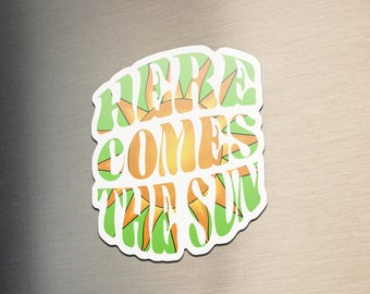 Fun in the Sun Colorful Beach Umbrella Kitchen Refrigerator Locker Button Magnet