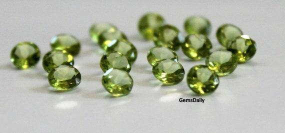 Diamante Amarillo Suelto Natural Facetado Redondo 2 mm