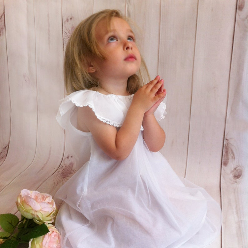 Blessing Dress Christening Gown Baptism Gown Baptism Dress Baptism Lace Dress Christening Dress Communion Dress Girls Lace Dress