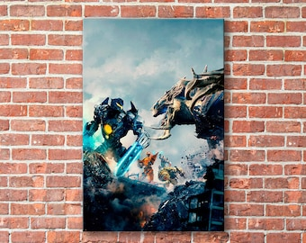 Pacific Rim, Tramp canvas, Pacific Rim print, Tramp, Pacific Rim canvas, Tramp print