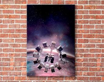 Interstellar canvas, Interstellar print, Interstellar wall art
