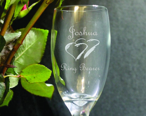 Mini Toasting Glass for Ring Bearer and Flower Girl( set of 2 ) Ideal for that Special occasions (PLEASE READ DESCRIPTION)