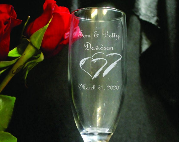 Wedding Charisma Laser Engraved Flutes( set of 2 ) Ideal for that Special occasions (PLEASE READ DESCRIPTION)