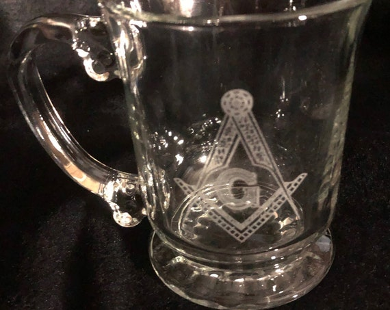 Masonic 15.5oz. Personalized Kava Cup (PLEASE READ DESCRIPTION)