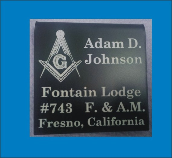 Masonic Members over the pocket Badge