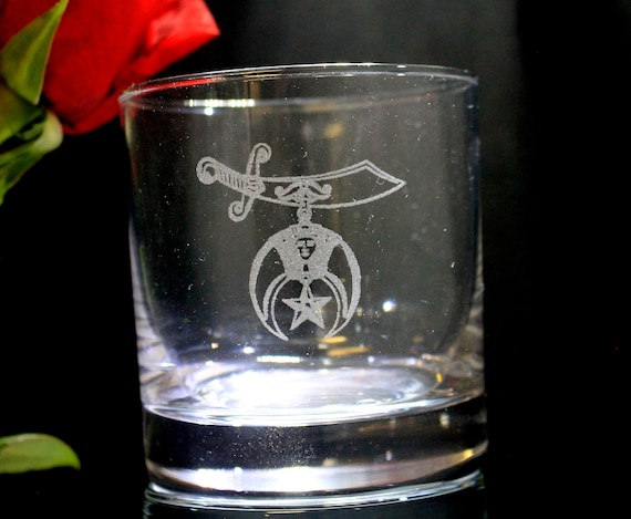 Shrine 11oz. On the Rocks Glasses ( set of 2 )