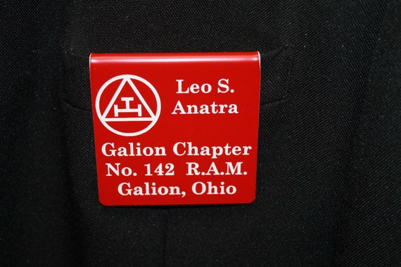 Chapter Members over the pocket Badge or Magnetic (PLEASE READ DESCRIPTION) (Discounts Available)