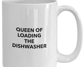 Queen of loading the dishwasher gift for mom or dad