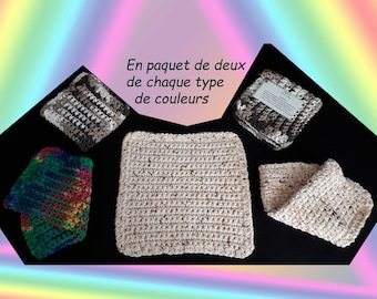 Item 10A - cloth or wipe crochet (Pack of 2)