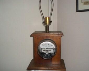 Horstman Antique Electric Meter Etsy