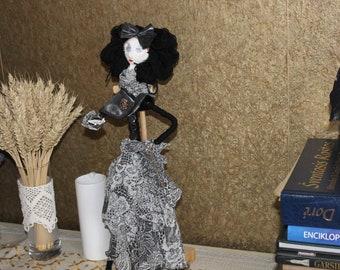 Handmade doll Art doll Gift doll Inetror doll
