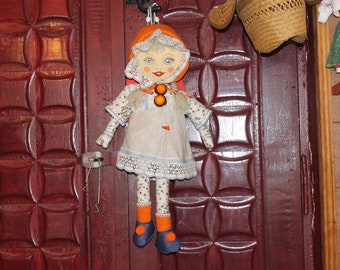 Handmade doll Art doll Interior doll Gift doll